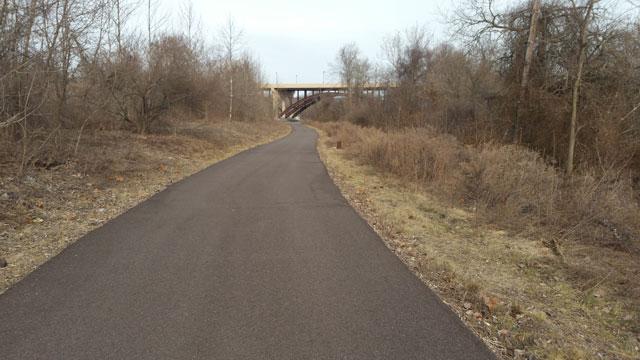 Schuylkill walking path