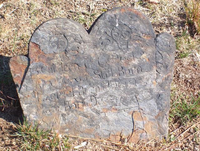 Milford Cemetery - Grave for 3 Children