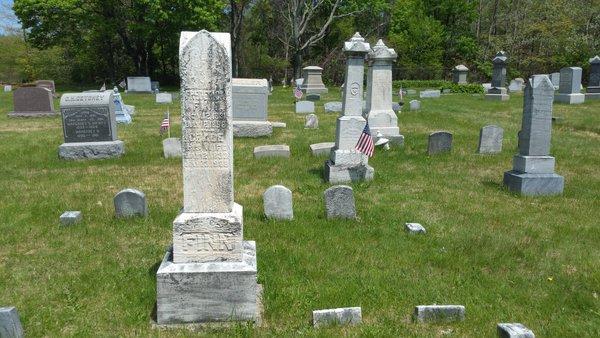 Centralia, PA - Odd Fellows Cemetery - Grave Stones