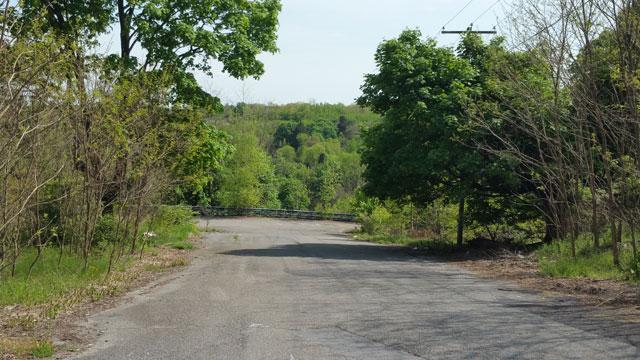Centralia, PA - Back Road