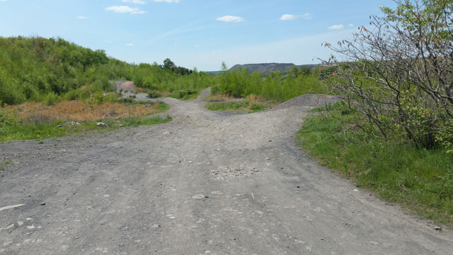 Centralia, PA - Trails Overlooking Recent Burn Zone