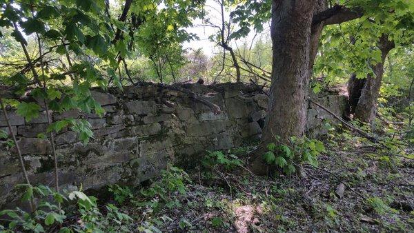Centralia, PA - Stone Wall