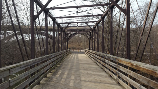 Schuylkill River Walking Bridge