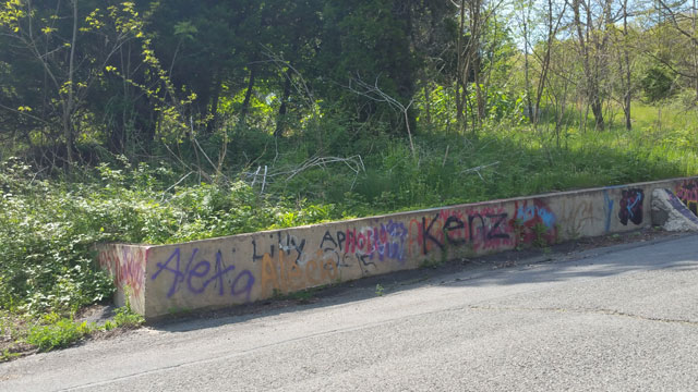 Centralia, PA - Graffiti Wall