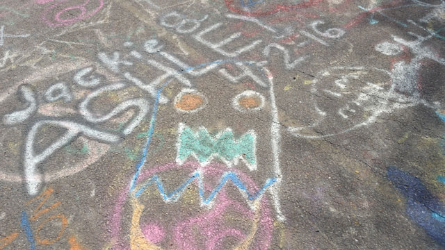 Centralia, PA - Abandoned Highway - Rt 61 - Graffiti Ghost