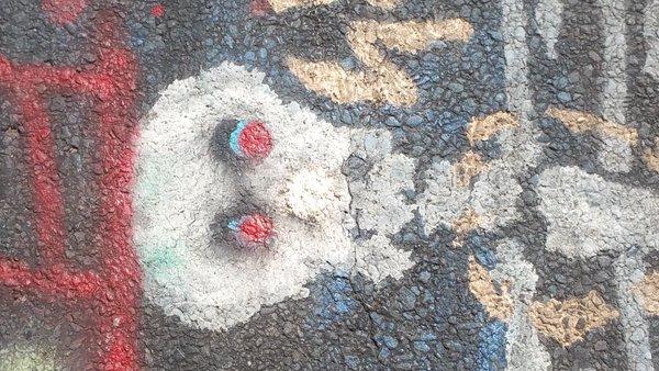 Centralia, PA - Abandoned Highway - Rt 61 - Skull / Skeleton Graffiti