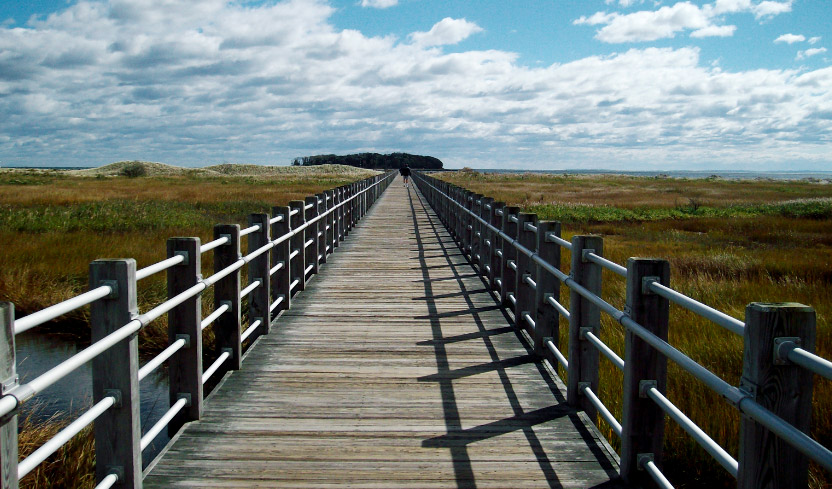 Milford, CT Boardwalk Over the Salt Marsh